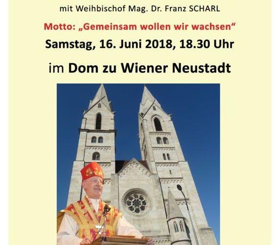 Bischofsmessemit Weihbischof Mag. Dr. Franz SCHARL